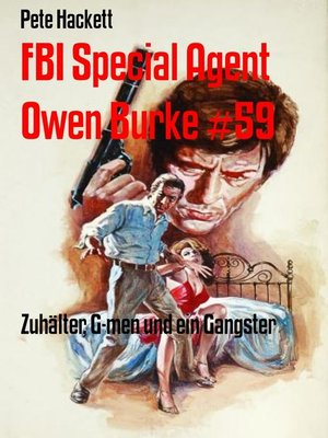 cover image of FBI Special Agent Owen Burke #59