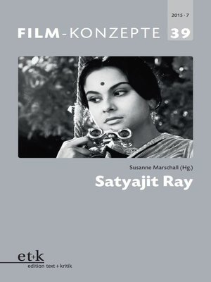 cover image of FILM-KONZEPTE 39--Satyajit Ray