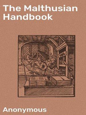 cover image of The Malthusian Handbook