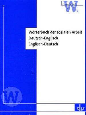 cover image of Wörterbuch der sozialen Arbeit