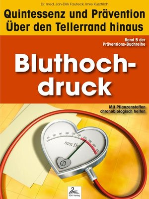cover image of Bluthochdruck