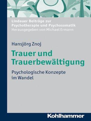 cover image of Trauer und Trauerbewältigung