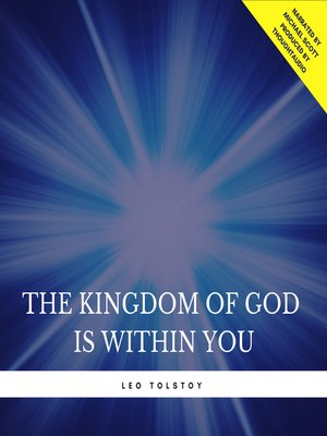 cover image of The Kingdom of God is Within You