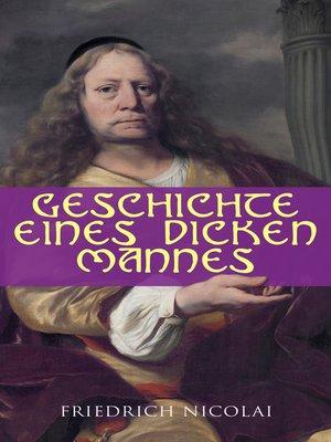 cover image of Geschichte eines dicken Mannes