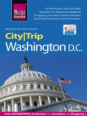 cover image of Reise Know-How CityTrip Washington D.C.