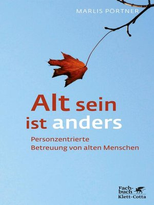 cover image of Alt sein ist anders