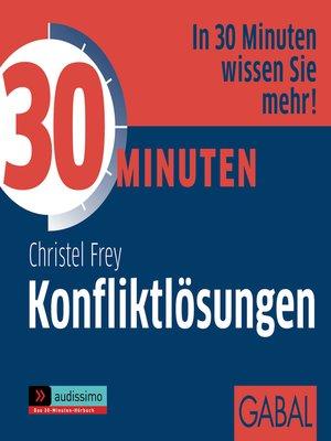 cover image of 30 Minuten Konfliktlösungen