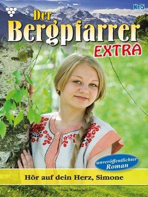 cover image of Der Bergpfarrer Extra 5 – Heimatroman