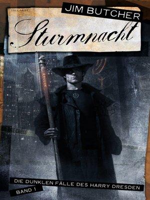 cover image of Sturmnacht