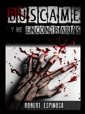 cover image of Búscame y me encontrarás