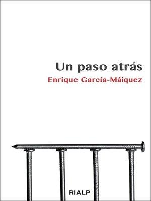 cover image of Un paso atrás