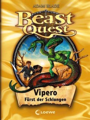 cover image of Vipero, Fürst der Schlangen