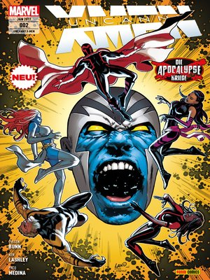 cover image of Uncanny X-Men 2--Die Apocalypse Kriege