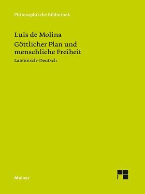 cover image of Göttlicher Plan und menschliche Freiheit