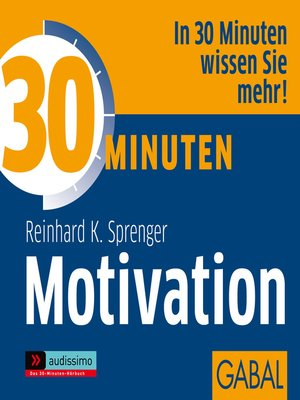 cover image of 30 Minuten Motivation