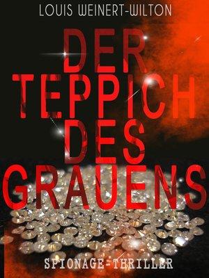 cover image of Der Teppich des Grauens (Spionage-Thriller)