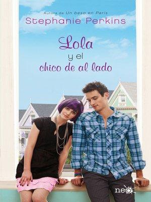 cover image of Lola y el chico de al lado