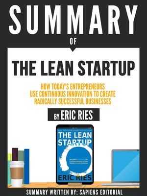 "cover image of Summary of ""The Lean Startup"