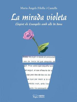 cover image of La mirada violeta