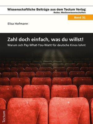 cover image of Zahl' doch einfach, was du willst!
