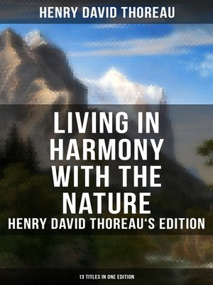 cover image of Living in Harmony with the Nature