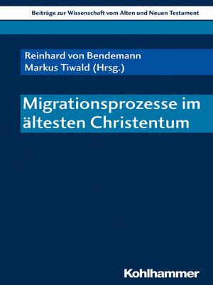 cover image of Migrationsprozesse im ältesten Christentum