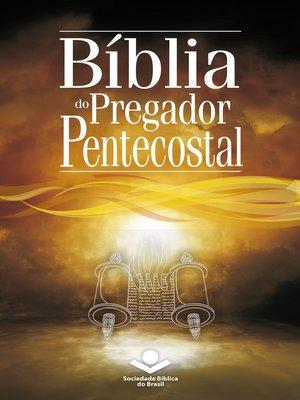 cover image of Bíblia do Pregador Pentecostal