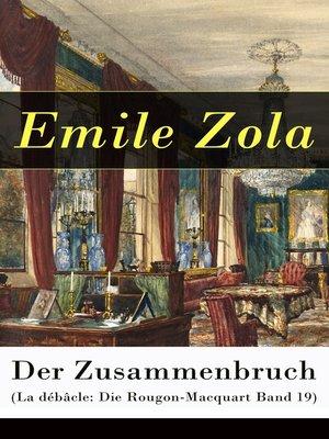 cover image of Der Zusammenbruch (La débâcle