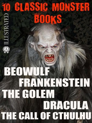 cover image of 10 Сlassic Monster books. Illustrated