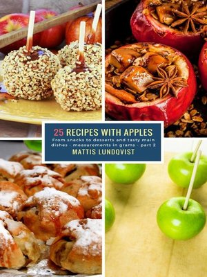 cover image of 25 Recipes with Apples--part 2