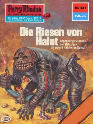 cover image of Perry Rhodan 824