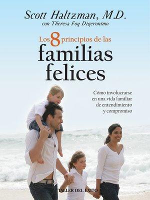 cover image of Los 8 principios de las familias felices