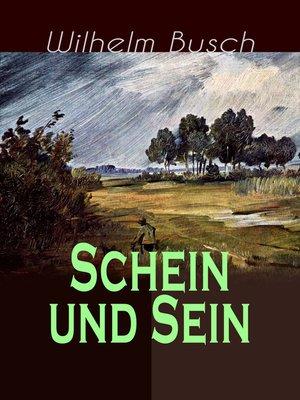 cover image of Schein und Sein