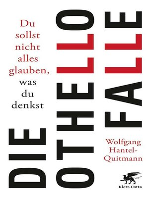 cover image of Die Othello-Falle