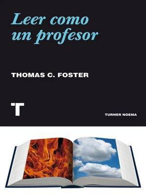 cover image of Leer como un profesor