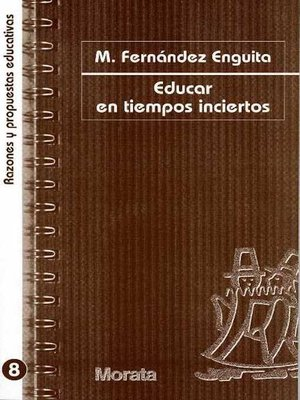 cover image of Educar en tiempos inciertos