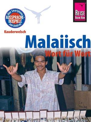cover image of Reise Know-How Sprachführer Malaiisch--Wort für Wort