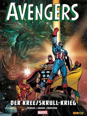 cover image of Avengers--Der Kree/Skrull-Krieg