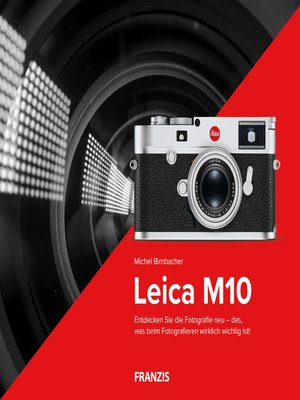 cover image of Kamerabuch Leica M10