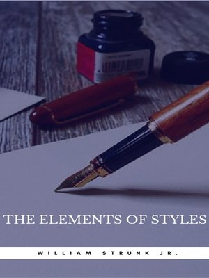 cover image of The Elements of Style (Book Center)