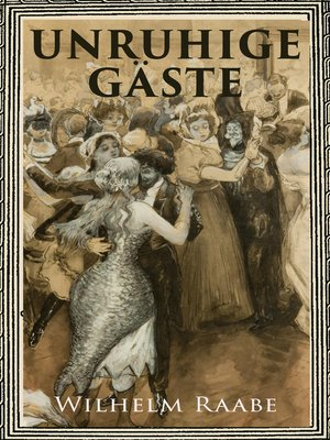 cover image of Unruhige Gäste