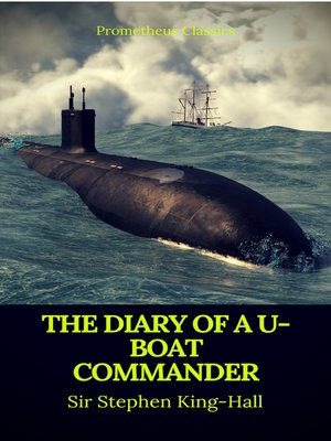 cover image of The Diary of a U-boat Commander (Prometheus Classics)