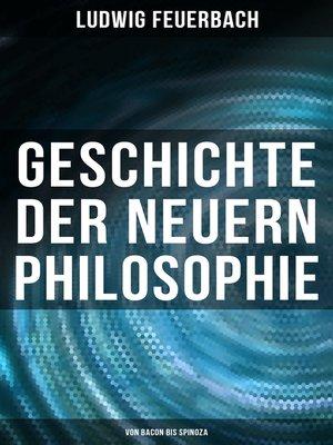 cover image of Geschichte der neuern Philosophie
