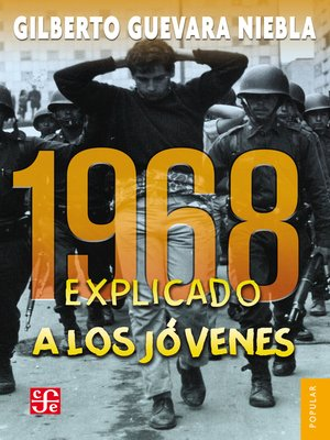 cover image of 1968 explicado a los jóvenes