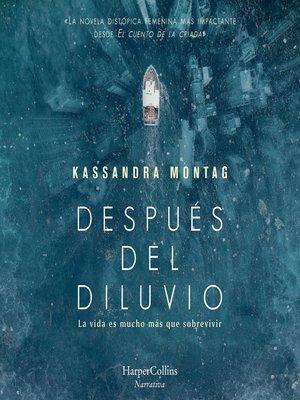 cover image of Después del diluvio