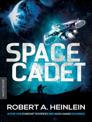 cover image of Space Cadet (dt. Ausgabe)