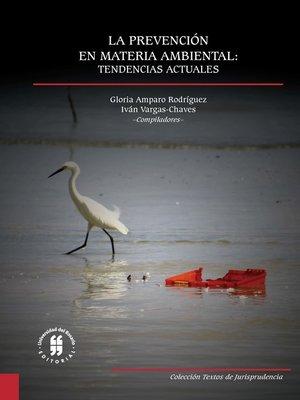 cover image of La prevención en materia ambiental
