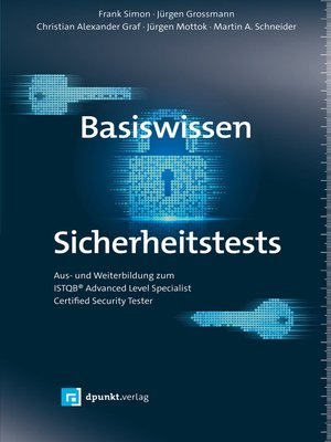 cover image of Basiswissen Sicherheitstests