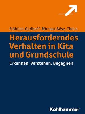 cover image of Herausforderndes Verhalten in Kita und Grundschule