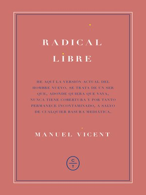 cover image of Radical libre